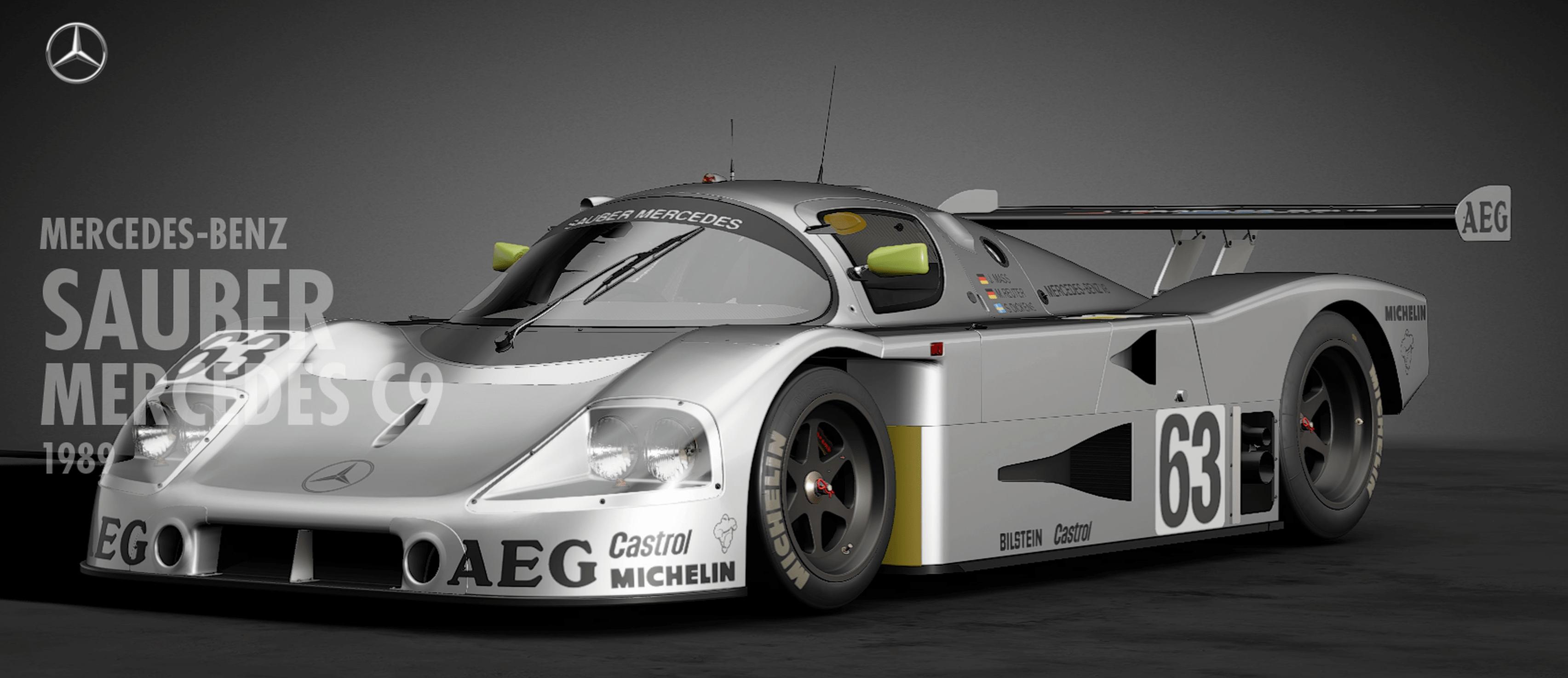GT SPORT「ザウバー メルセデス C9」性能/入手方法 | プロイド - GameNews